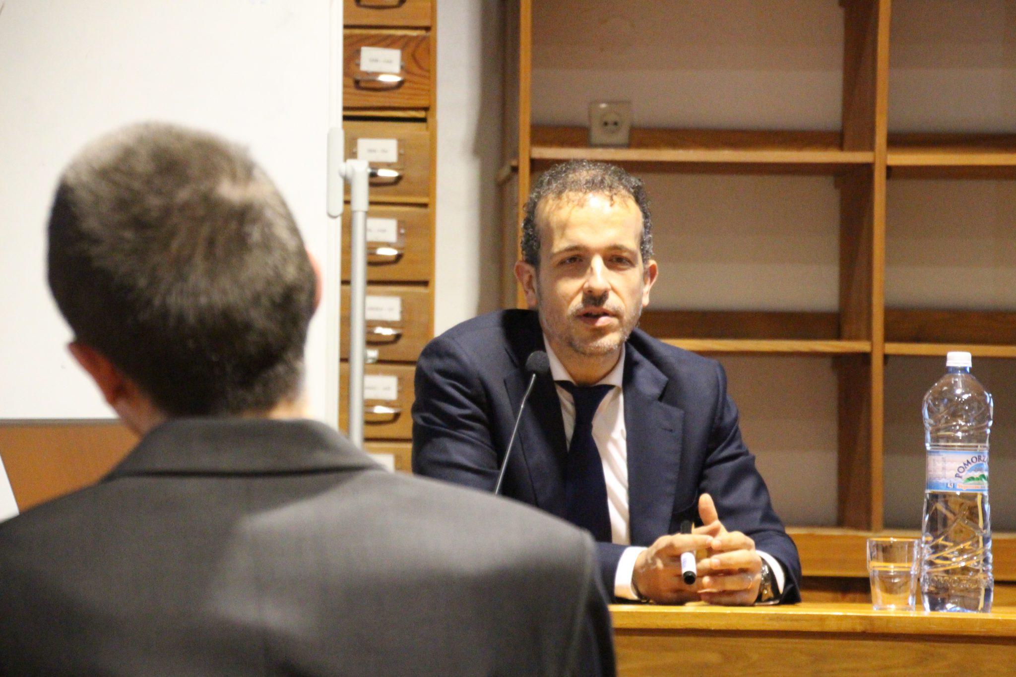 Gościnny wykład profesora z Hiszpanii