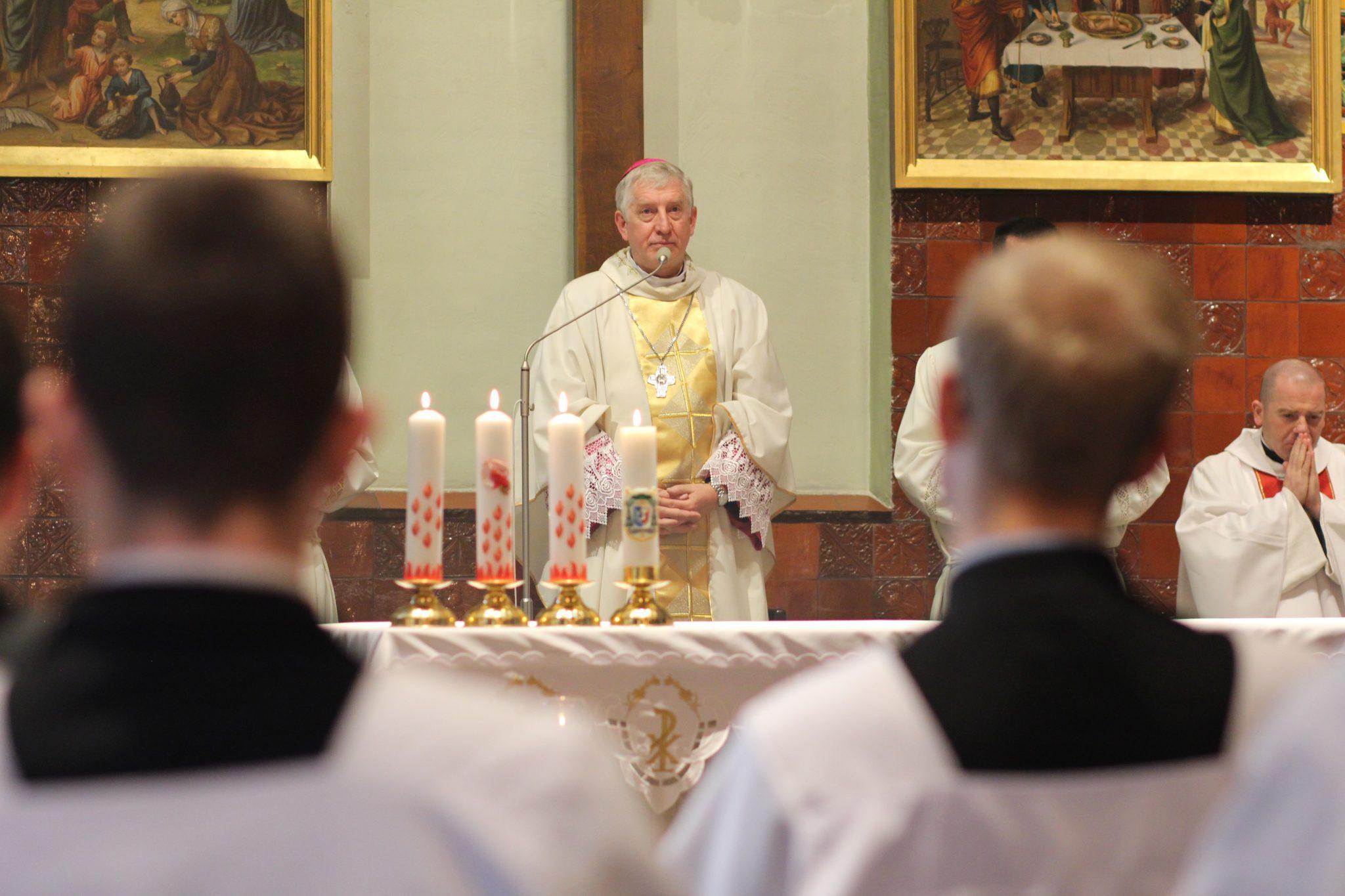 Pierwszy czwartek miesiąca i wizyta biskupa Ryszarda