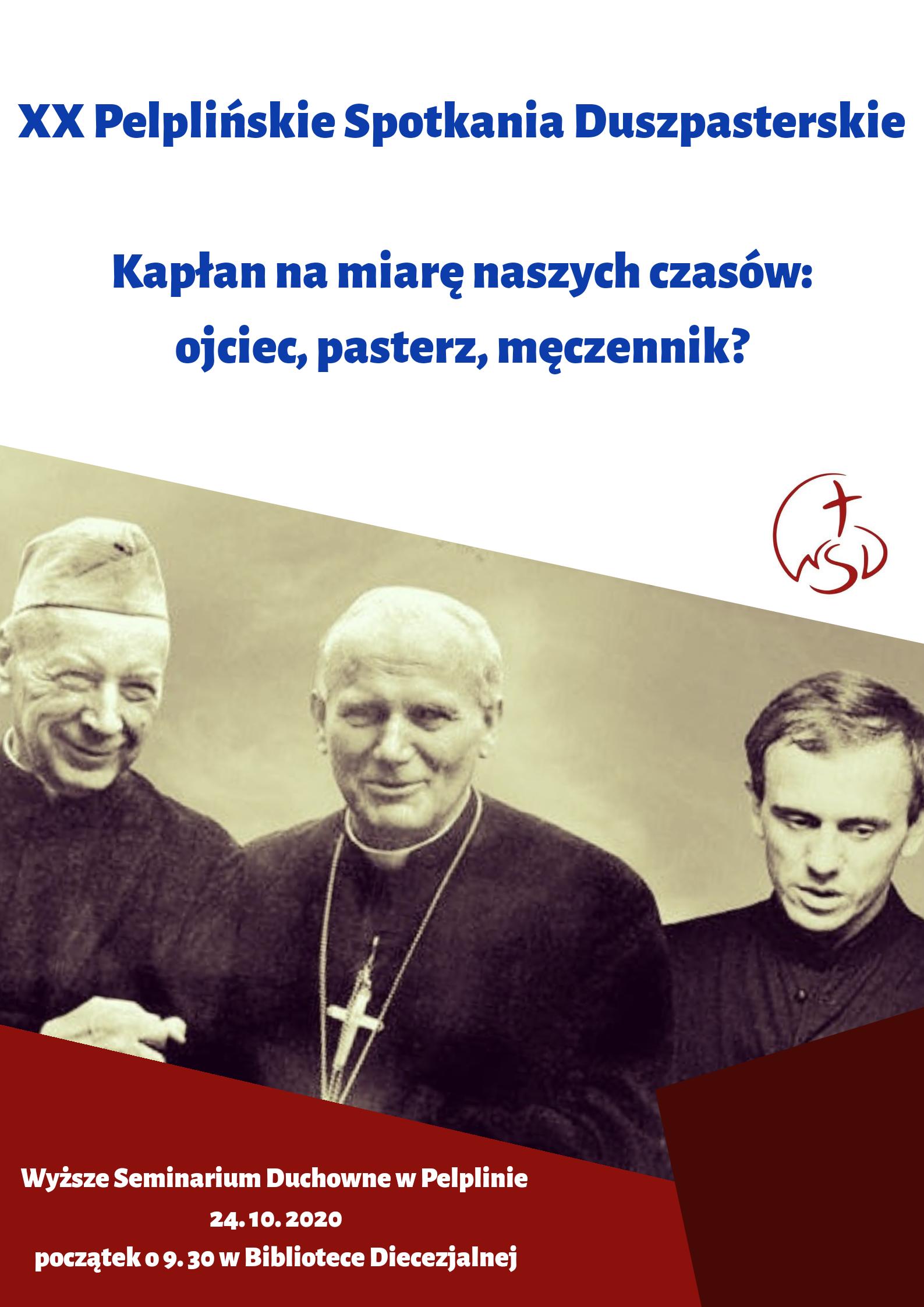 XX Pelplińskie Spotkania Duszpasterskie