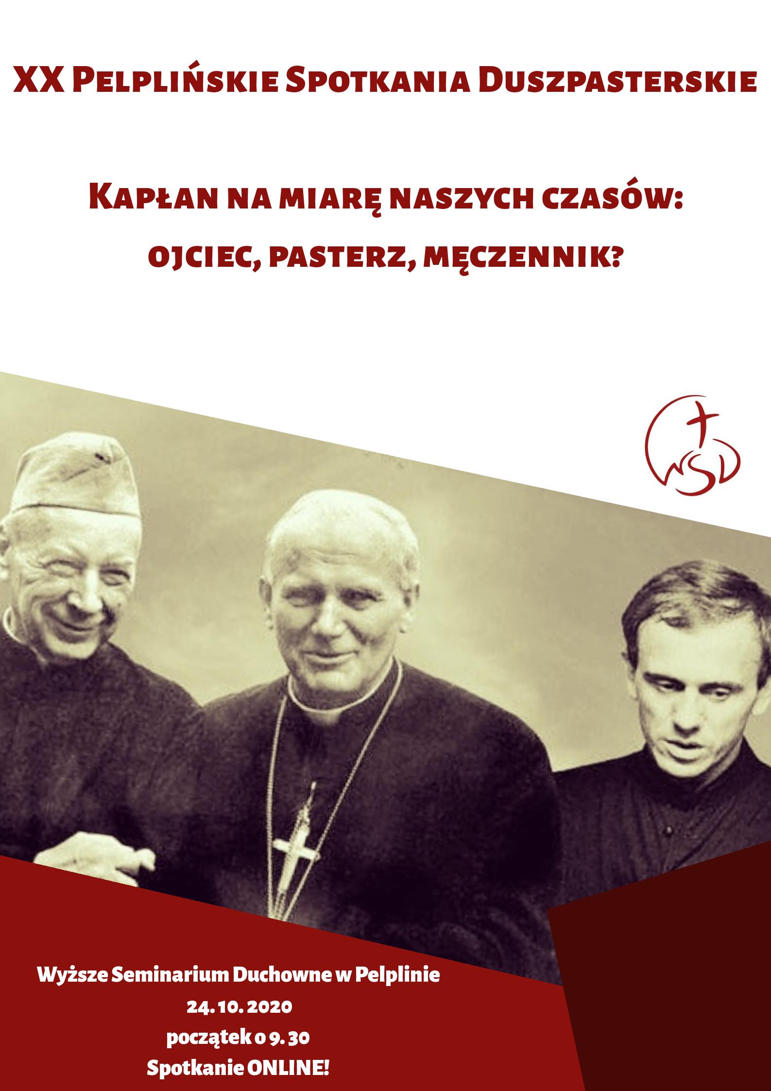 XX Pelplińskie Spotkania Duszpasterskie – ONLINE